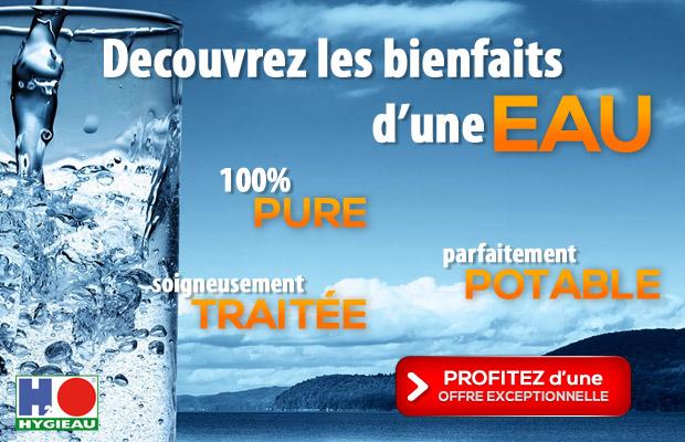 Découvrez les bienfaits d'une eau pure, potable, traitée